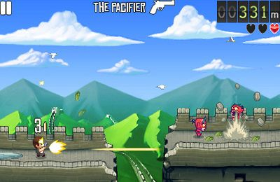 Screenshots of the Monster Dash game for iPhone, iPad or iPod.