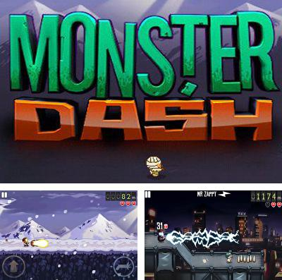 In addition to the game Planet Wars for iPhone, iPad or iPod, you can also download Monster Dash for free.