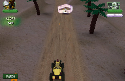 Screenshots vom Spiel Monster Fighters Race für iPhone, iPad oder iPod.
