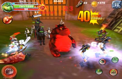 Screenshots of the Monster Fights game for iPhone, iPad or iPod.