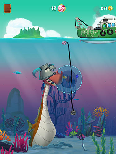 Capturas de pantalla del juego Monster fishing legends para iPhone, iPad o iPod.