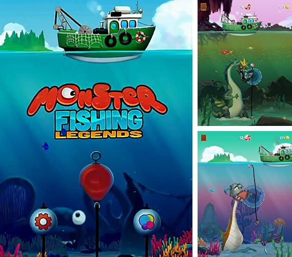 In addition to the game Ultra Jump for iPhone, iPad or iPod, you can also download Monster fishing legends for free.