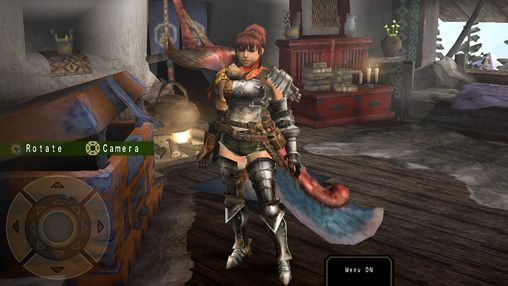 Kostenloses iPhone-Game Monster Hunter: Freedom Unite herunterladen.