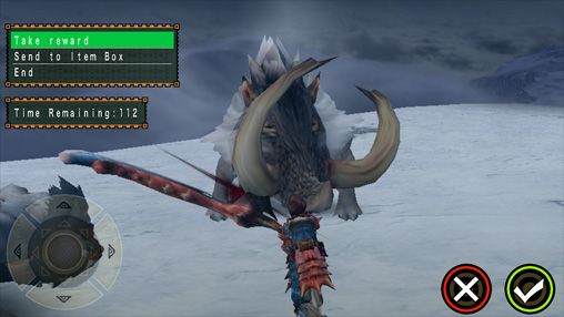 Capturas de pantalla del juego Monster hunter freedom unite para iPhone, iPad o iPod.