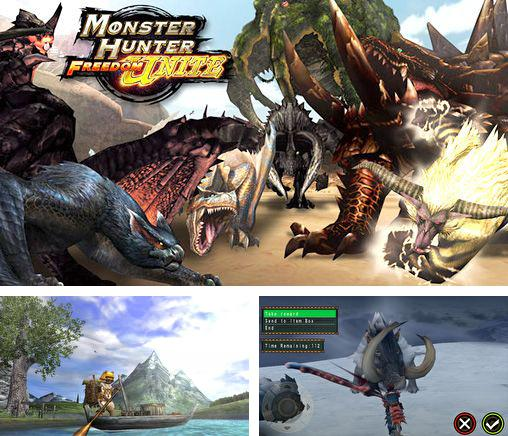 Kostenloses iPhone-Game Monster Hunter: Freedom Unite See herunterladen.
