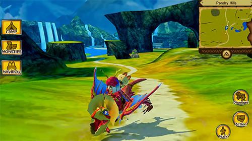 iPhone、iPad 或 iPod 版Monster hunter stories: The adventure begins游戏截图。