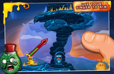 Écrans du jeu Monster Island pour iPhone, iPad ou iPod.