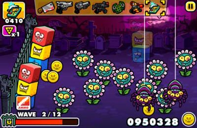 Скриншот игры Monster Mayhem - Zombie Shooting And Tower Defence на Айфон.