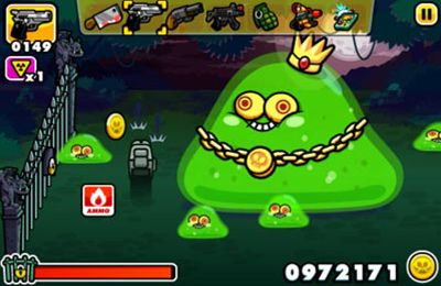 iPhone、iPad 或 iPod 版Monster Mayhem - Zombie Shooting And Tower Defence游戏截图。