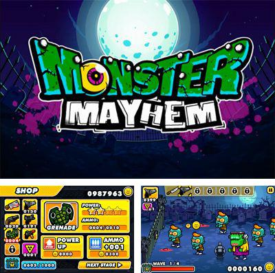 除了 iPhone、iPad 或 iPod 魔域塔防II 游戏,您还可以免费下载Monster Mayhem - Zombie Shooting And Tower Defence, 怪物大乱斗。