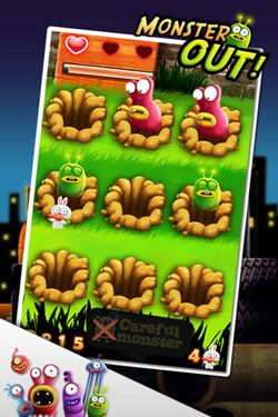 Descarga gratuita de Monster Out para iPhone, iPad y iPod.
