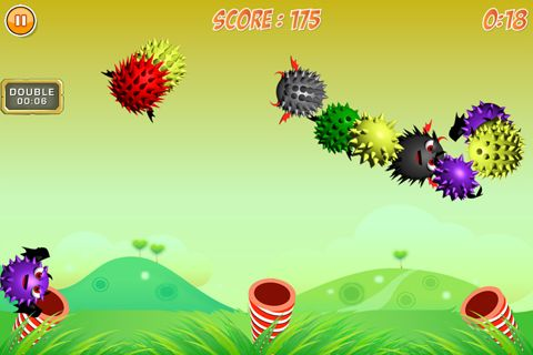 Screenshots of the Monster rush game for iPhone, iPad or iPod.