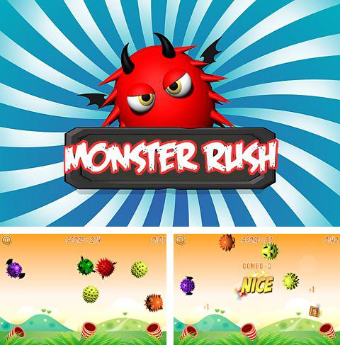 In addition to the game Garden Rescue for iPhone, iPad or iPod, you can also download Monster rush for free.