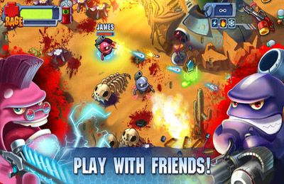 Скриншот игры Monster Shooter 2: Back to Earth на Айфон.