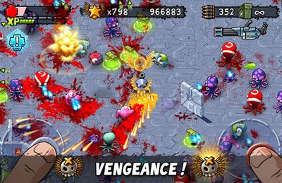 iPhone、iPad 或 iPod 版Monster Shooter: The Lost Levels游戏截图。