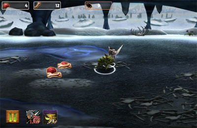 Screenshots vom Spiel Lara Croft and the Guardian of Light für iPhone, iPad oder iPod.