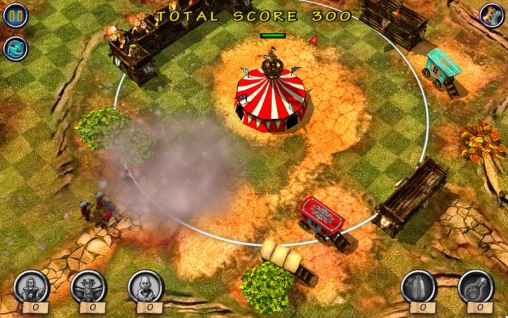 Screenshots of the Monster Trouble Dark Side game for iPhone, iPad or iPod.
