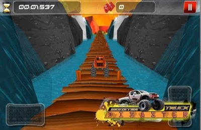 Kostenloses iPhone-Game Monstertruck Katastrophe herunterladen.