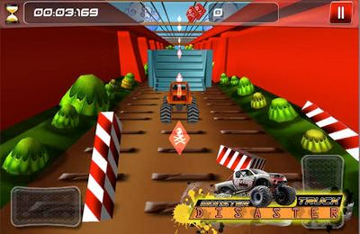 Screenshots vom Spiel Monster Truck Disaster für iPhone, iPad oder iPod.