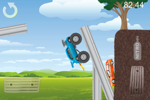 Download Monster Truck Mania iPhone free game.