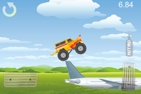 Screenshots of the Monster Truck Mania game for iPhone, iPad or iPod.