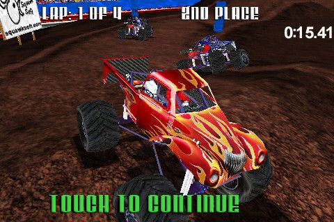 Screenshots vom Spiel Monster Truck Racing für iPhone, iPad oder iPod.