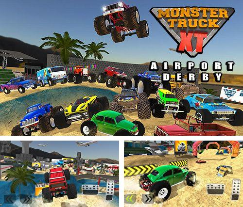 Скачать Monster truck XT airport derby на iPhone бесплатно
