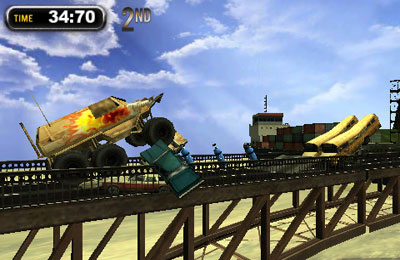 Capturas de pantalla del juego Monster Trucks Nitro 2 para iPhone, iPad o iPod.