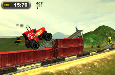 Écrans du jeu Monster Trucks Nitro 2 pour iPhone, iPad ou iPod.