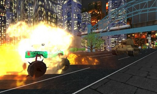 Kostenloser Download von Monster Trucks vs. Army Night Smash für iPhone, iPad und iPod.