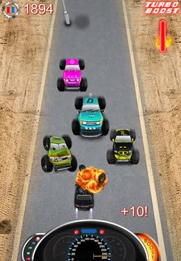 Скачать игру Monster Trucks vs COPS HD – FULL VERSION для iPad.