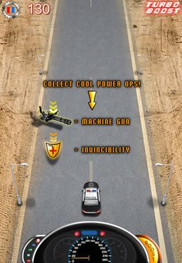 Screenshots vom Spiel Monster Trucks vs COPS HD – FULL VERSION für iPhone, iPad oder iPod.