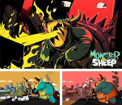 In addition to the game Witch go for iPhone, iPad or iPod, you can also download Monster vs. sheep for free.