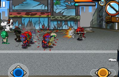 Screenshots vom Spiel Monster Zombie 2: Undead Hunter für iPhone, iPad oder iPod.