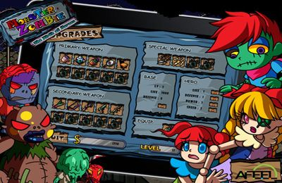 Screenshots vom Spiel Monster Zombie: The Birth of Heroes für iPhone, iPad oder iPod.