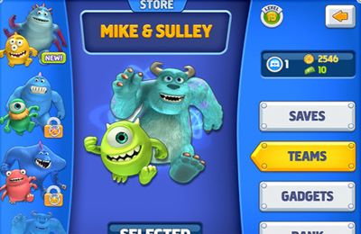 Download Monsters, Inc. Run iPhone free game.