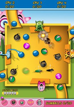 Screenshots vom Spiel Monsters Love Gum: Pocket Edition für iPhone, iPad oder iPod.