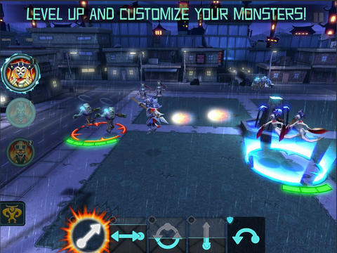 Free Monsters Rising download for iPhone, iPad and iPod.