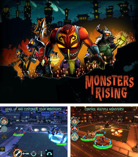 In addition to the game Motordrive city for iPhone, iPad or iPod, you can also download Monsters Rising for free.