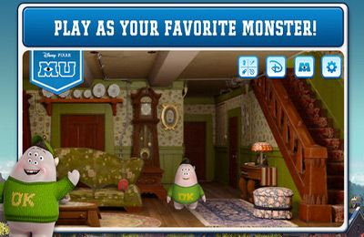 Download Monsters University iPhone free game.