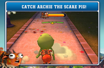 Screenshots vom Spiel Monsters University für iPhone, iPad oder iPod.