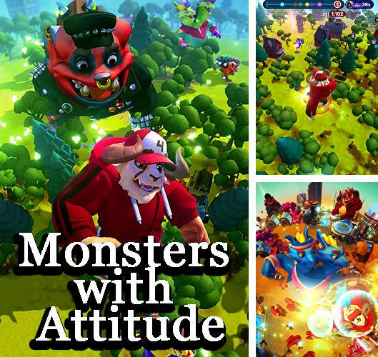 Download Monsters with attitude iPhone free game.