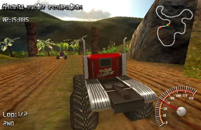 Download MonsterTruck Rally iPhone free game.