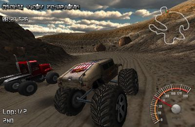Descarga gratuita de MonsterTruck Rally para iPhone, iPad y iPod.