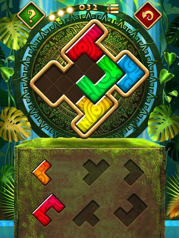 Screenshots of the Montezuma puzzle 4: Premium game for iPhone, iPad or iPod.