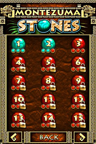 Download Montezuma stones iPhone free game.