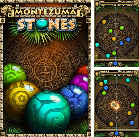 In addition to the game Stick Hero for iPhone, iPad or iPod, you can also download Montezuma stones for free.