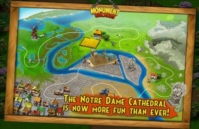 Screenshots vom Spiel Monument Builders: Notre Dame de Paris für iPhone, iPad oder iPod.