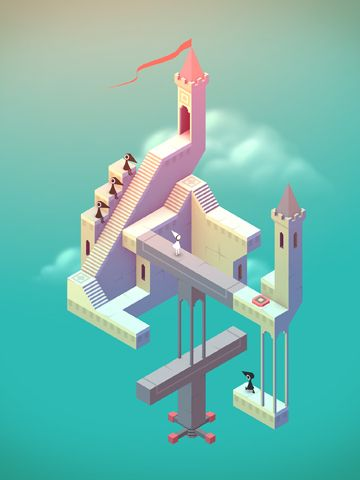 Free Monument valley download for iPhone, iPad and iPod.