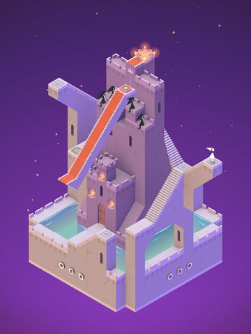 Screenshots vom Spiel Monument valley für iPhone, iPad oder iPod.